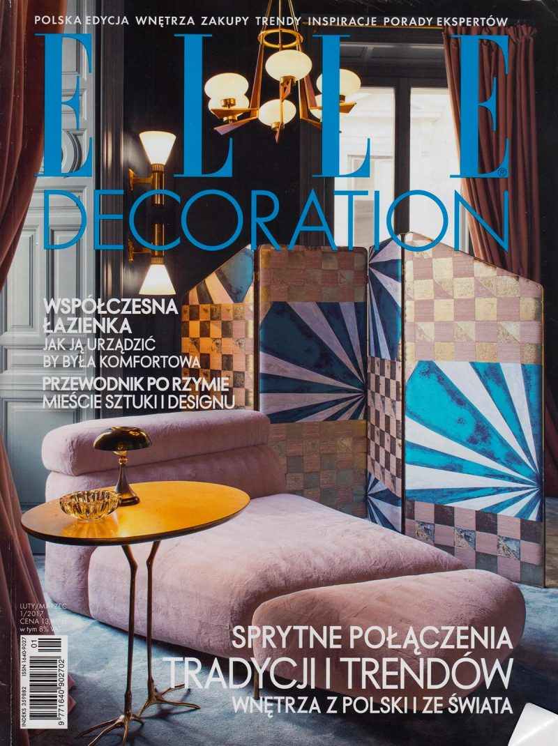 ELLE DECORATION LUTY / MARZEC 2017
