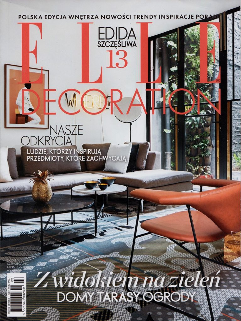 ELLE DECORATION June / July 2017