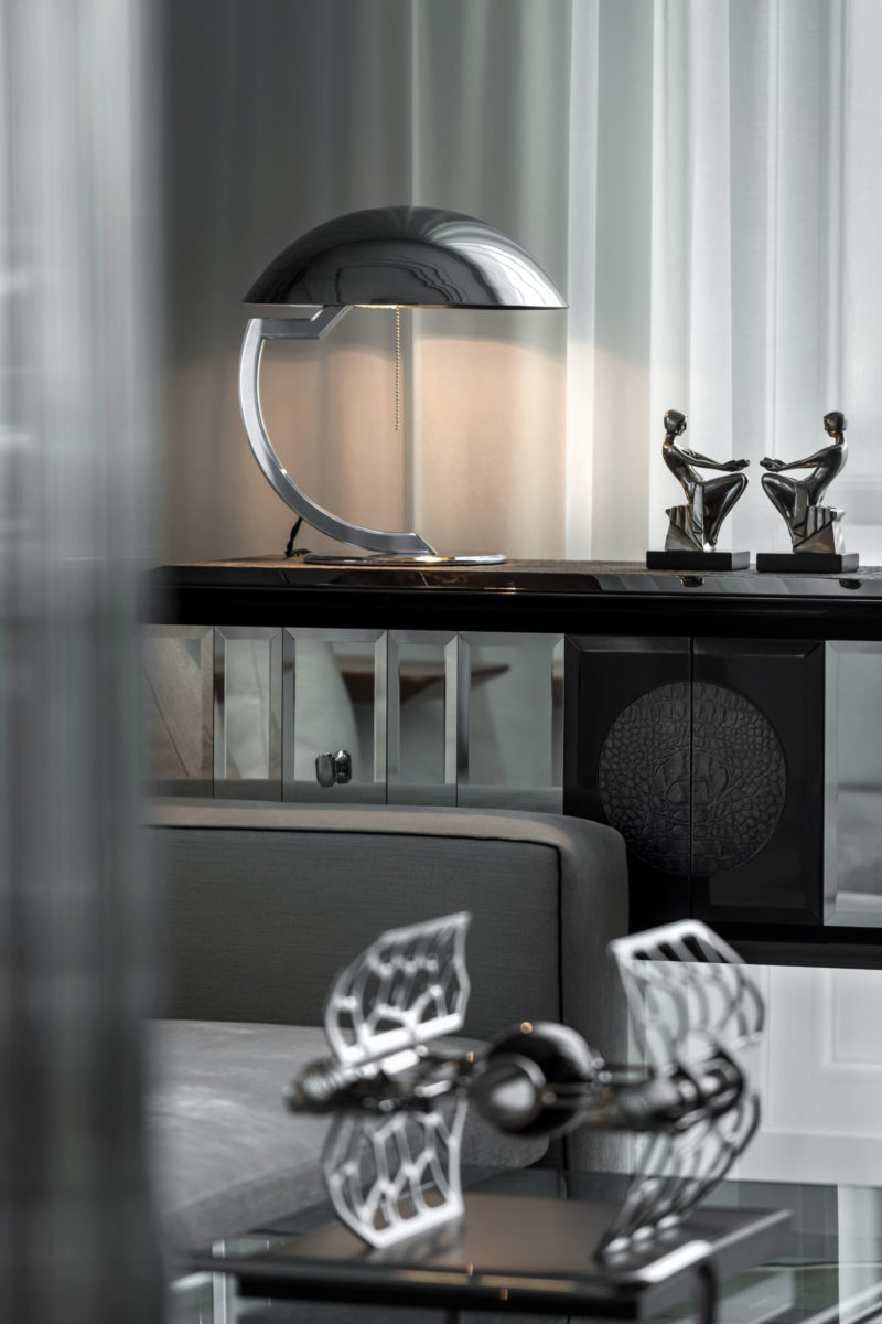 Lampa biurkowa / stołowa Dutch Bob Art Deco