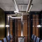 Lampa sufitowa Art Deco, jadalnia
