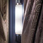 Kinkiet Art Deco METROPOLIS wnętrze