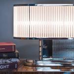 Lampa biurkowa Streamline art deco wnętrze