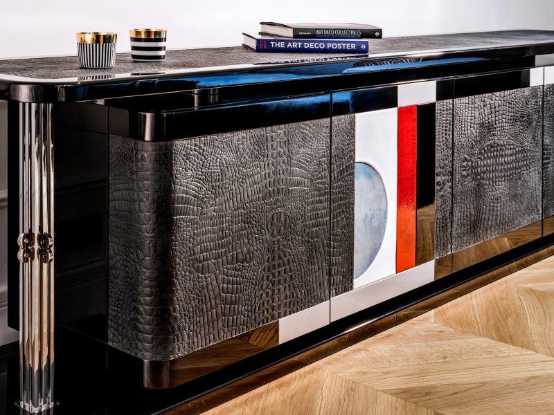 Bufet Art Deco luksusowe meble na zamówienie