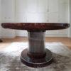 Owalny stół Art Deco