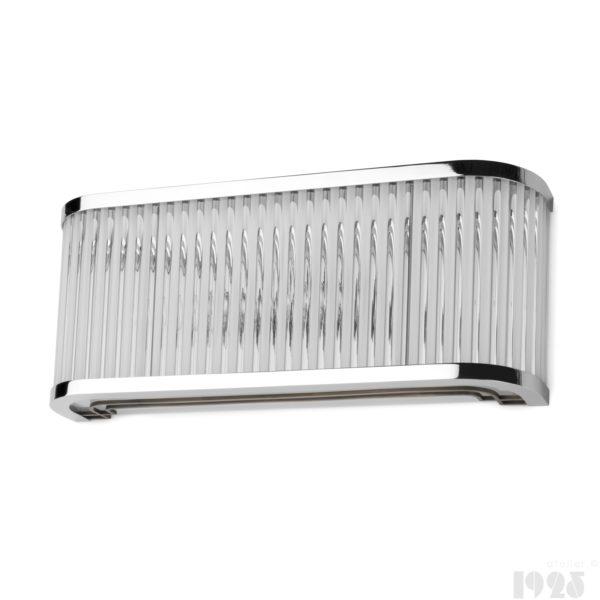 Lampa ścienna Streamline Moderne Art Deco
