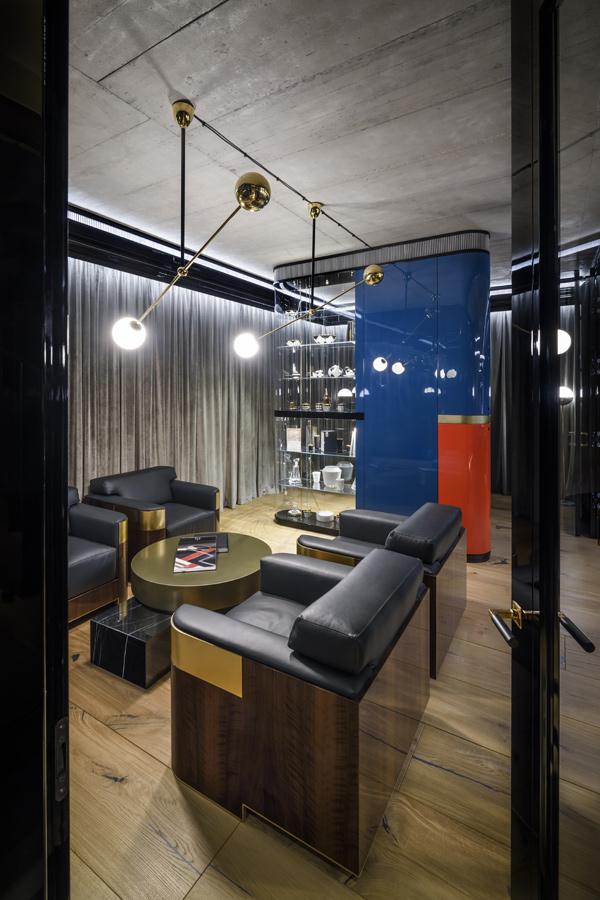 Gabinet fotel Art Deco